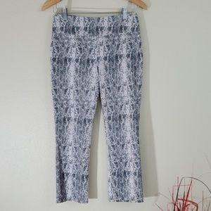 TRIBAL Women's Snake Skin Printed Ankle Jegging